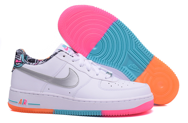 air force one low femme,air force 1 blanche et rose femme