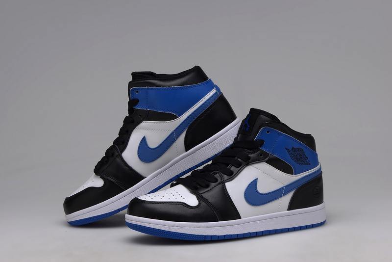 air jordan 1 mid bleu 38