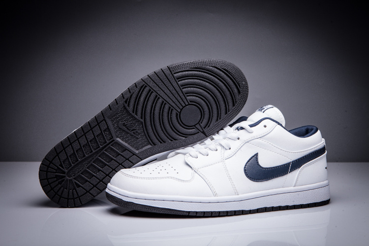air jordan 1 low blanche homme